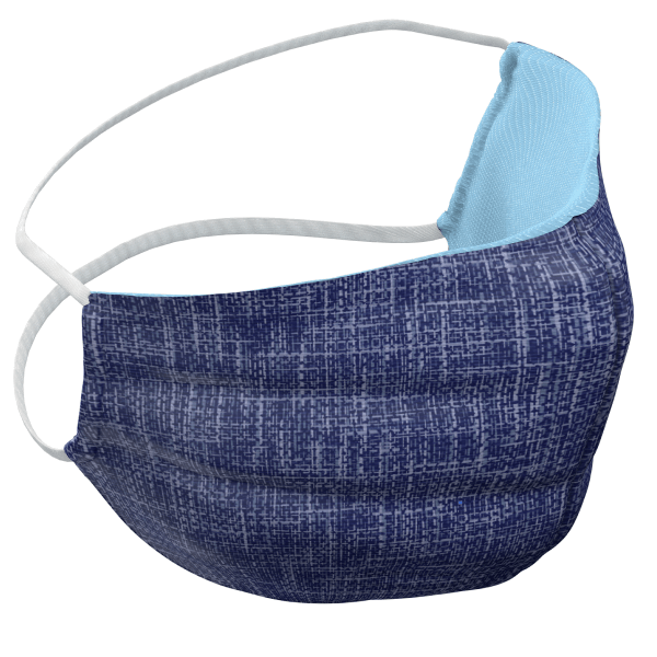Blue Texture Mask